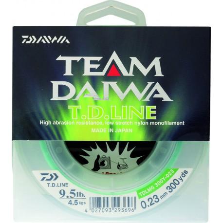 Fil de pêche Nylon Daiwa TEAM DAIWA LINE pêche leurres
