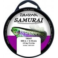 FIL Nylon Bleu Daiwa SAMURAI Pêche Truite