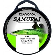 FIL Nylon Vert Daiwa SAMURAI Pêche Brochet Pike