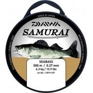 FIL Nylon Translucide Daiwa SAMURAI Pêche Bar