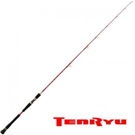 canne TENRYU STEEL RED SYSTEM 3 EVO mer et eau douce carnassier