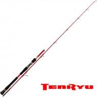 Canne TENRYU STEEL RED SYSTEM 4 EVO mer et eau douce carnassier