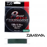 TRESSE DAIWA TOURNAMENT 8 BRAID EVO VERT