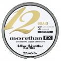 TRESSE DAIWA MORETHAN 12 BRAID EX CHARTREUSE 135m