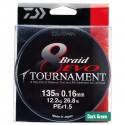 TRESSE DAIWA TOURNAMENT 8 BRAID EVO VERT 135m - 300m - 1000m