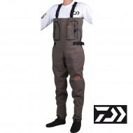 WADERS DAIWA et pantalons respirants 4 couches chausson néoprène